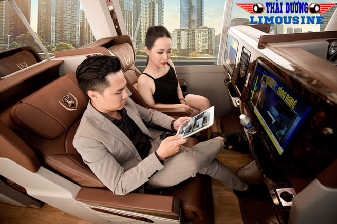 Limousine ngày càng phổ biến trong vận chuyển hành khách