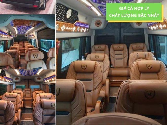 tính tiện nghi đầy đủ của limousine