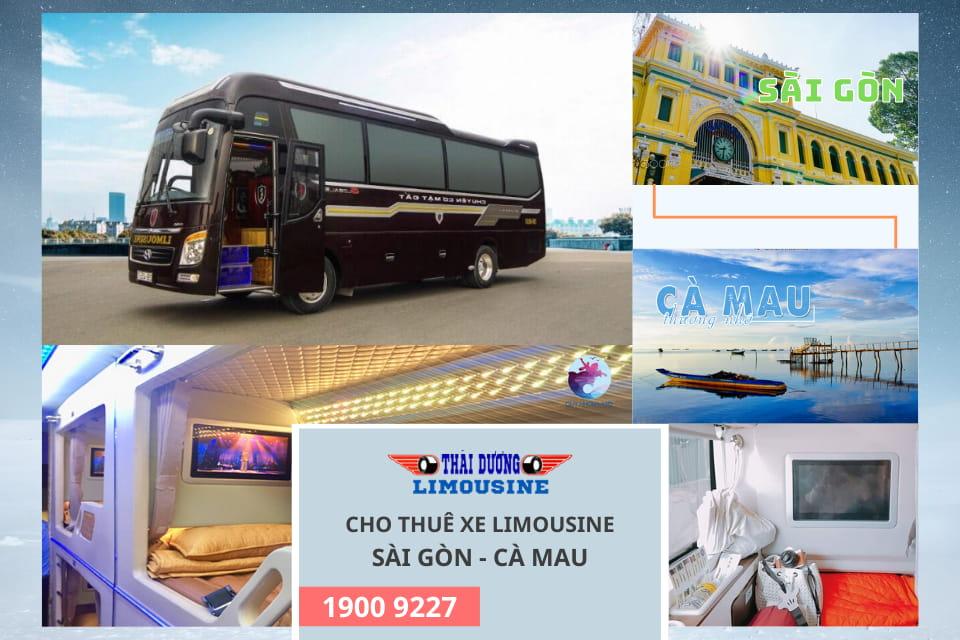 Thái Dương cho thuê xe Limousine Sài Gòn đi Cà Mau