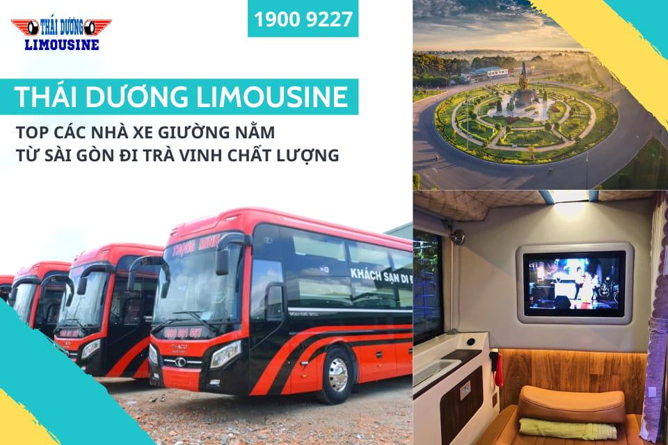 Nhà xe Thái Dương Limousine chạy tuyến Sài Gòn đi Trà Vinh