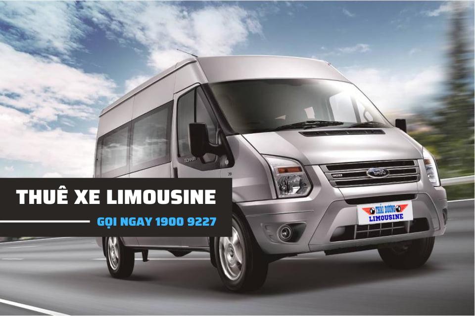 Dòng xe Limousine thích hợp cho chuyến du lịch