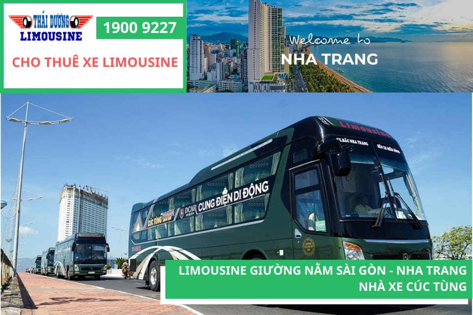 Nhà xe Cúc Tùng xe giường nằm đi Nha Trang