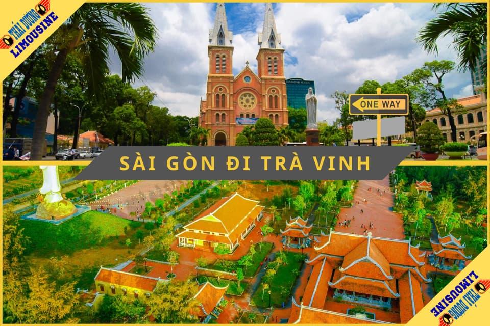 Khoảng cách từ Sài Gòn đến Trà Vinh