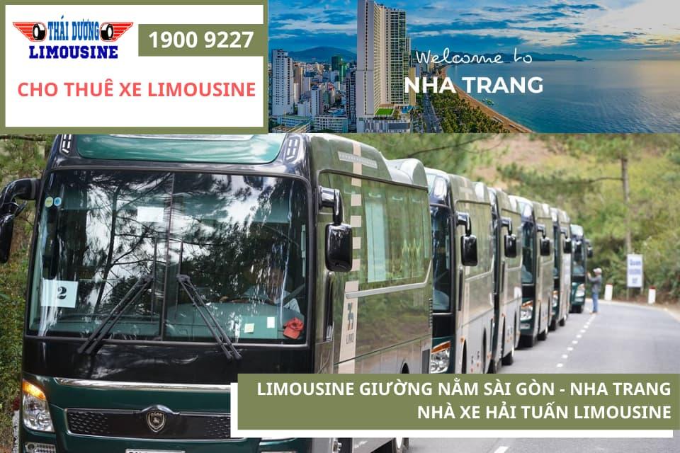 Nhà xe Hải Tuấn chạy tuyến Sài Gòn - Nha Trang
