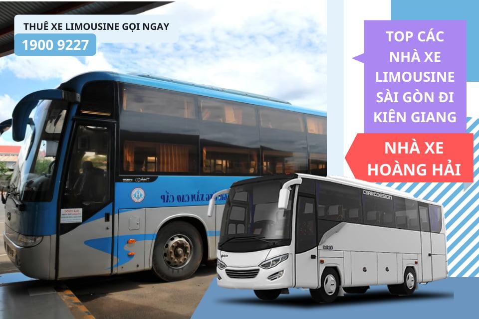 Nhà xe Hoàng Hải xe giường nằm đi Kiên Giang