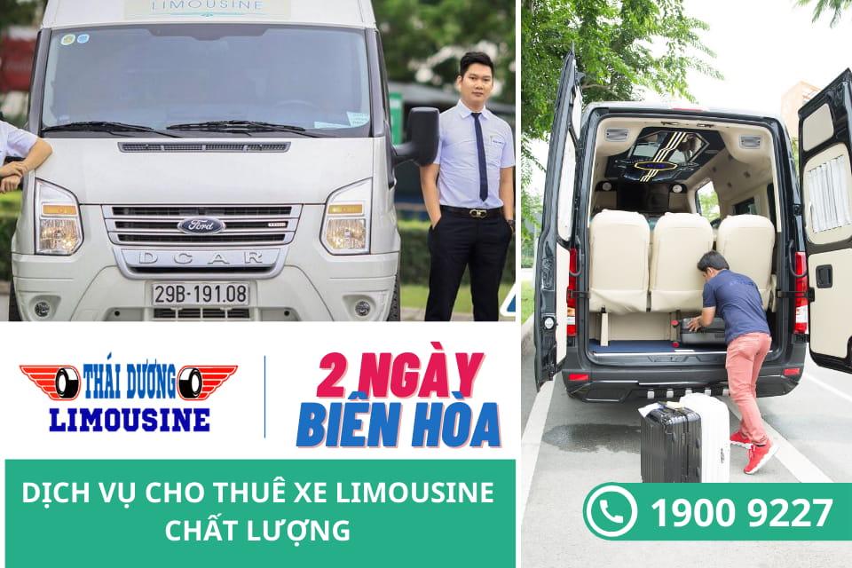 Nhà xe Thái Dương Limousine Biên Hoà