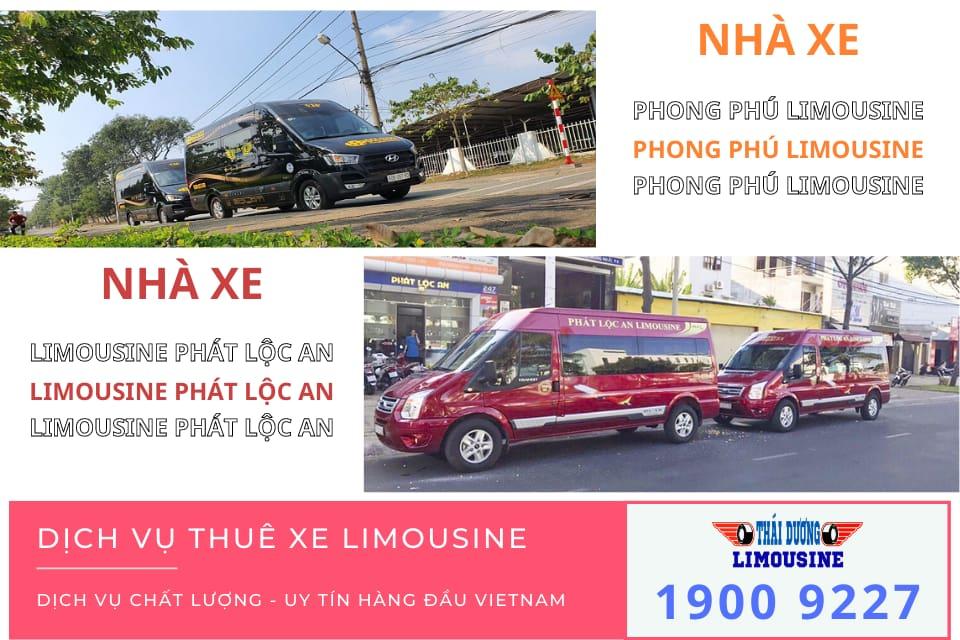 Nhà xe Phong Phú Limousine và Limousine Phát Lộc An