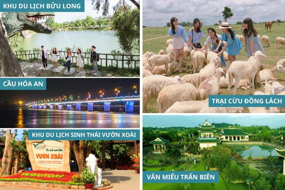 Các địa diểm du lịch tại Biên Hoà