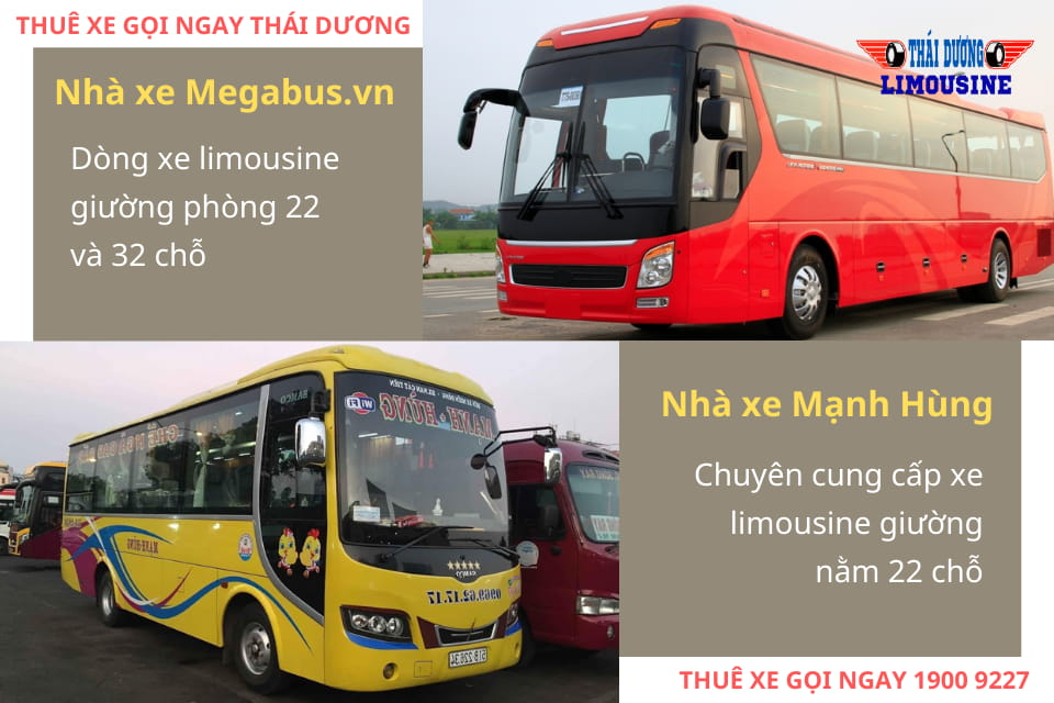 Nhà xe Megabus.vn và Nhà xe Mạnh Hùng