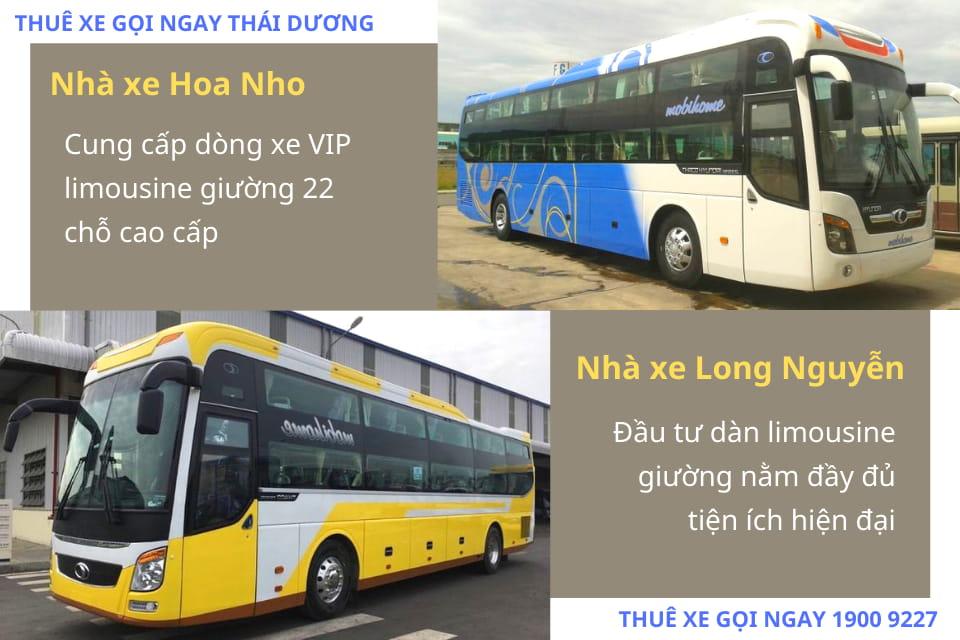 Nhà xe Hoa Nho và Nhà xe Long Nguyễn