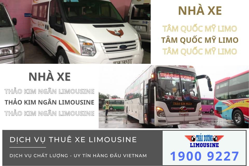 Nhà xe Tâm Quốc Mỹ Limousine và Thảo Kim Ngân