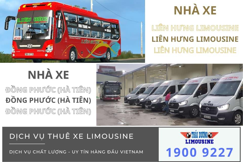 Nhà xe Liên Hưng Limousine và Đồng Phước