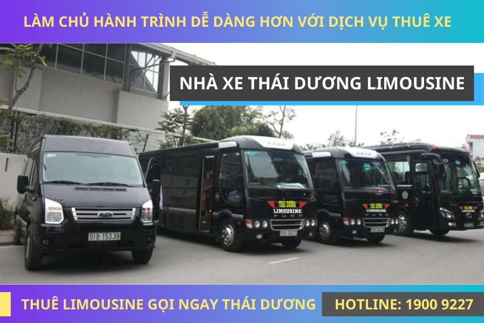 Thái Dương Limousine đi Hà Tiên