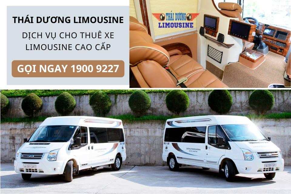 Đơn vị dịch vụ cho thuê xe Limusine 9 chỗ