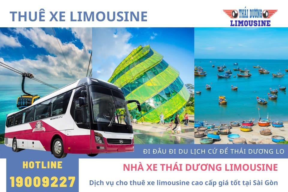 Thái Dương Limousine bán vé xe limousine giường nằm giá rẻ
