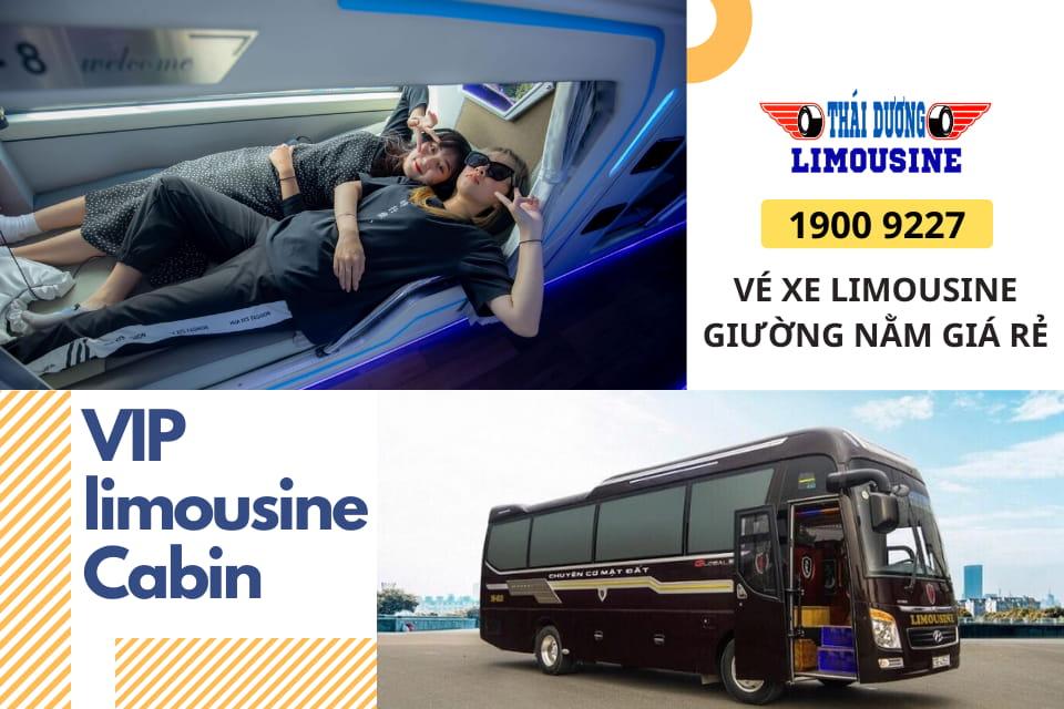 Xe Limousine giường nằm Cabin cao cấp giá bình dân