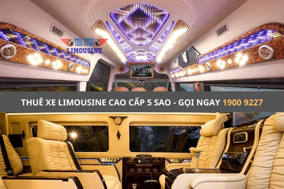 Xe Limousine cao cấp 5 sao đi Vũng Tàu cực chill