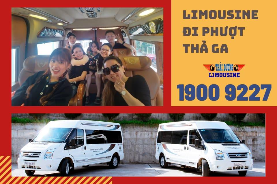 Cho thuê xe limousine đi phượt và mở bán vé xe limousine ngày lễ