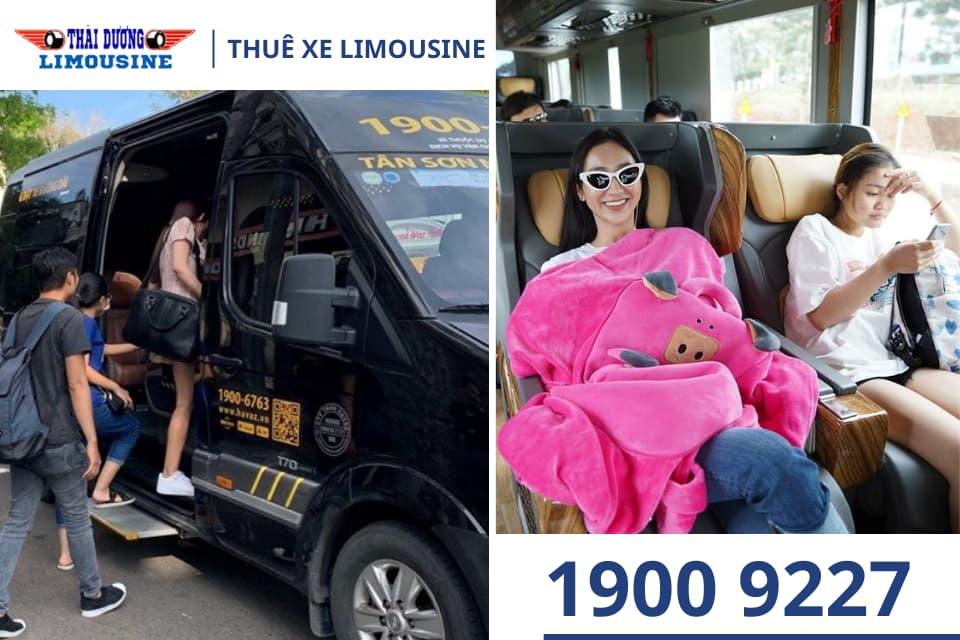 Dịch vụ thuê xe Limousine cho gia đình