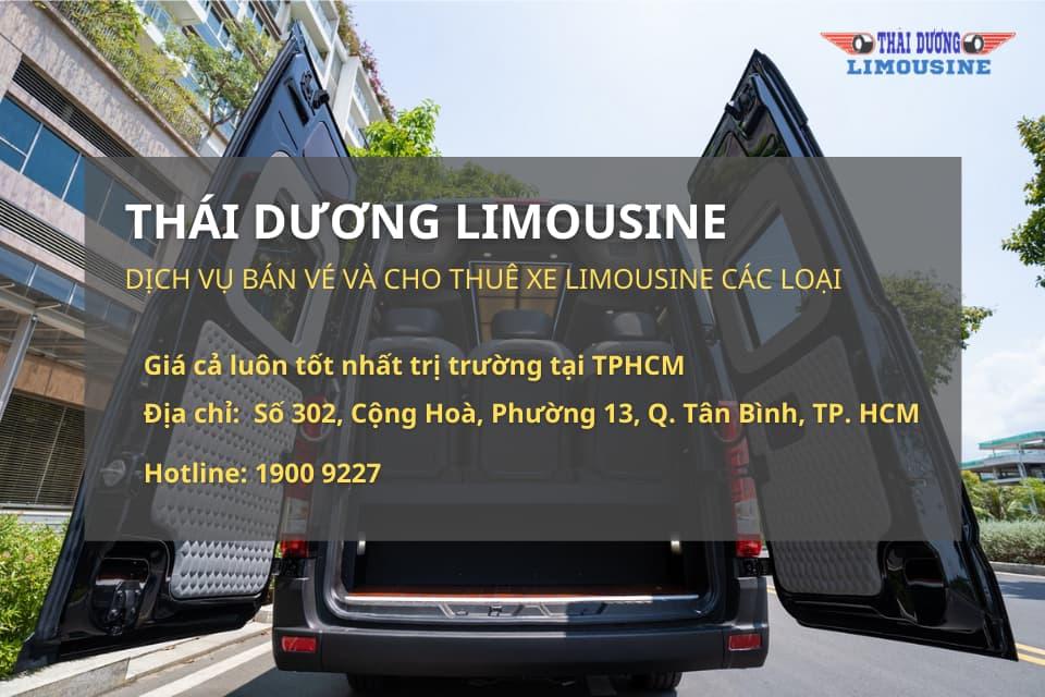 Thái Dương Limousine cho thuê xe Limousine các loại